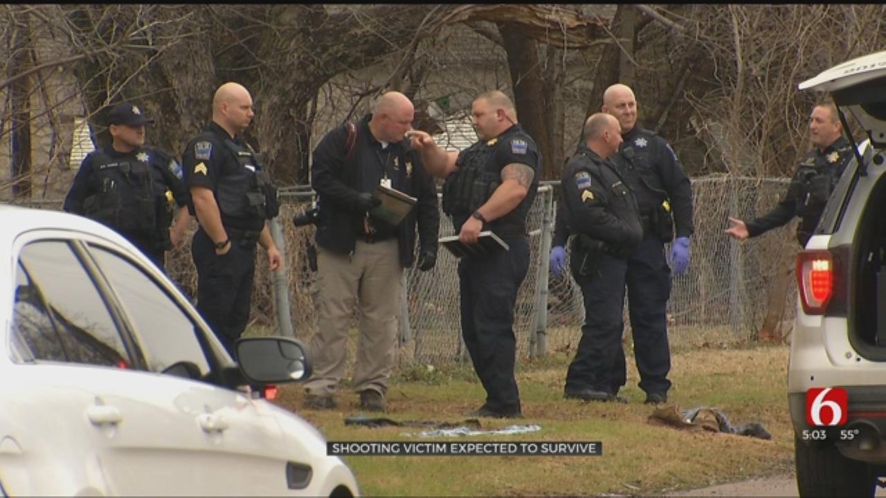 Tulsa Police Take 1 In Custody In Shooting