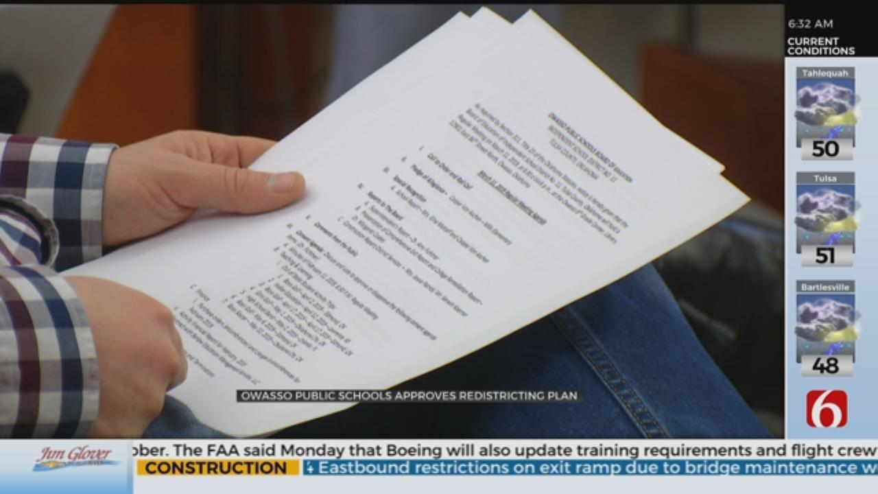 Owasso Public Schools Approves Redistricting Plan