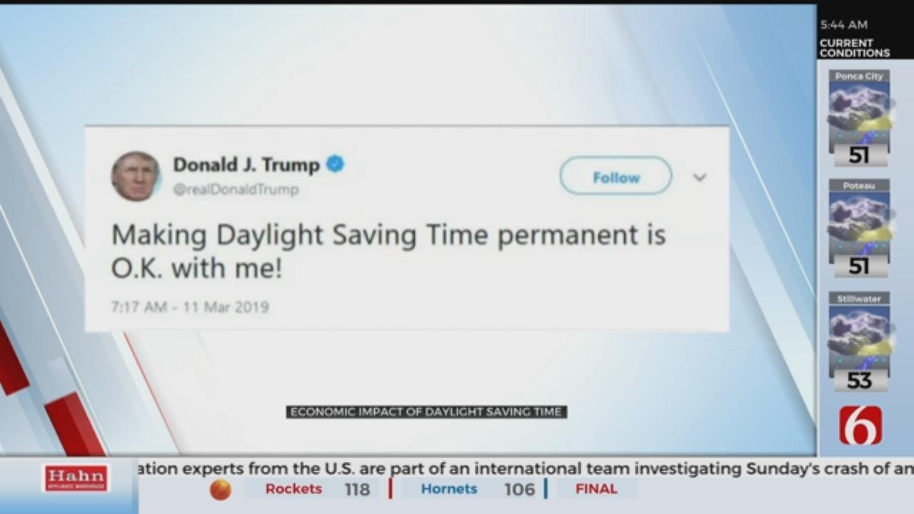 Trump Supports Making Daylight Saving Time 'Permanent'