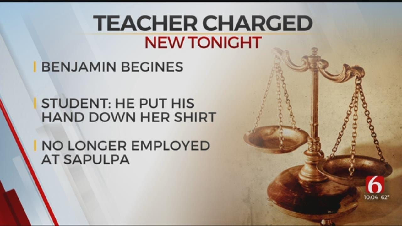 Former Sapulpa Teacher Charged With Molesting Student