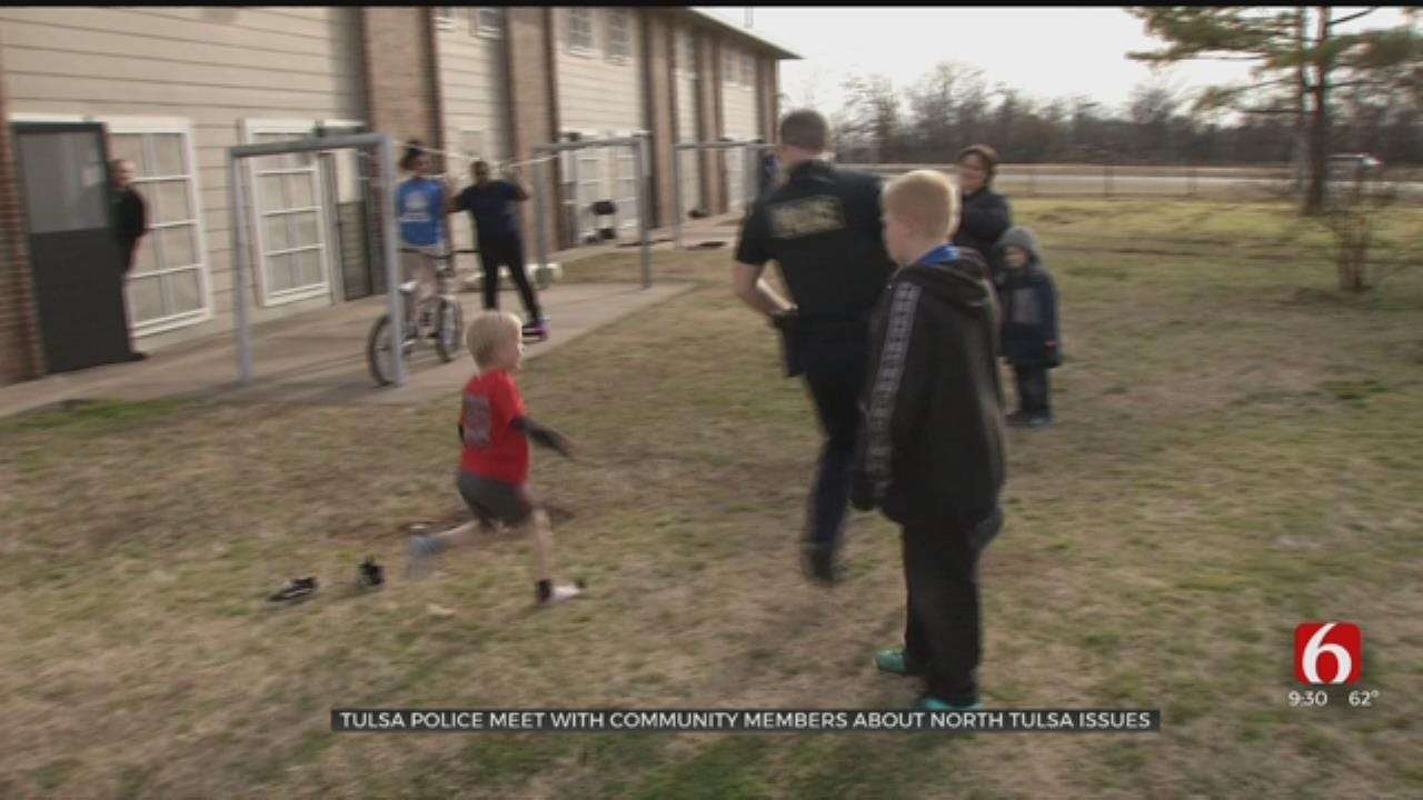TPD Hopes Community Meetings Will Increase Reporting Crime