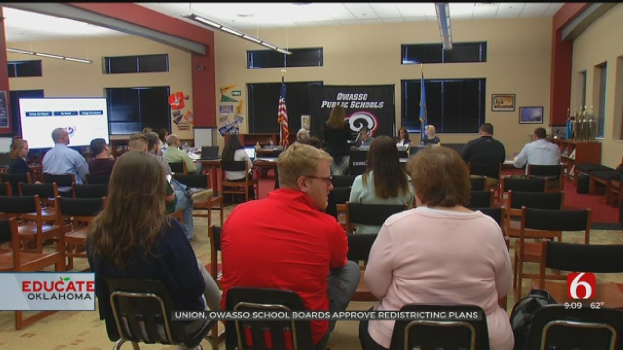 Union And Owasso Schools Approve Redistricting Plans
