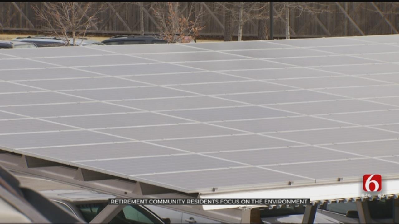 Retirement Community Residents Focusing On Renewable Energy