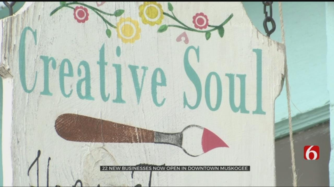 Surge Of New Businesses Opening In Downtown Muskogee