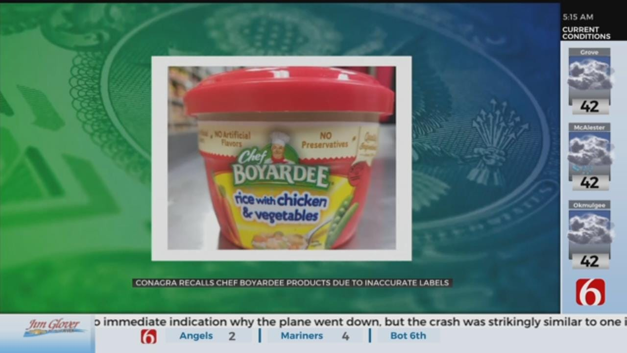 3,000 Pounds Of Chef Boyardee Products Recalled