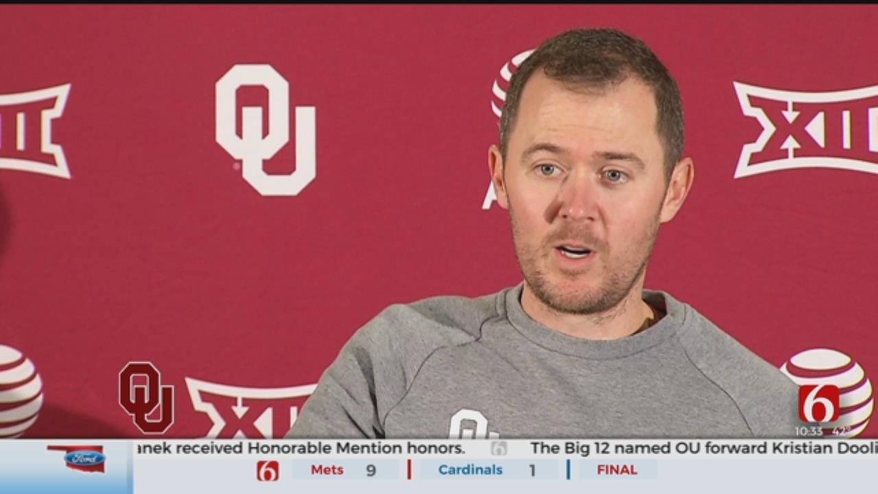 Spring Practice Opens For OU