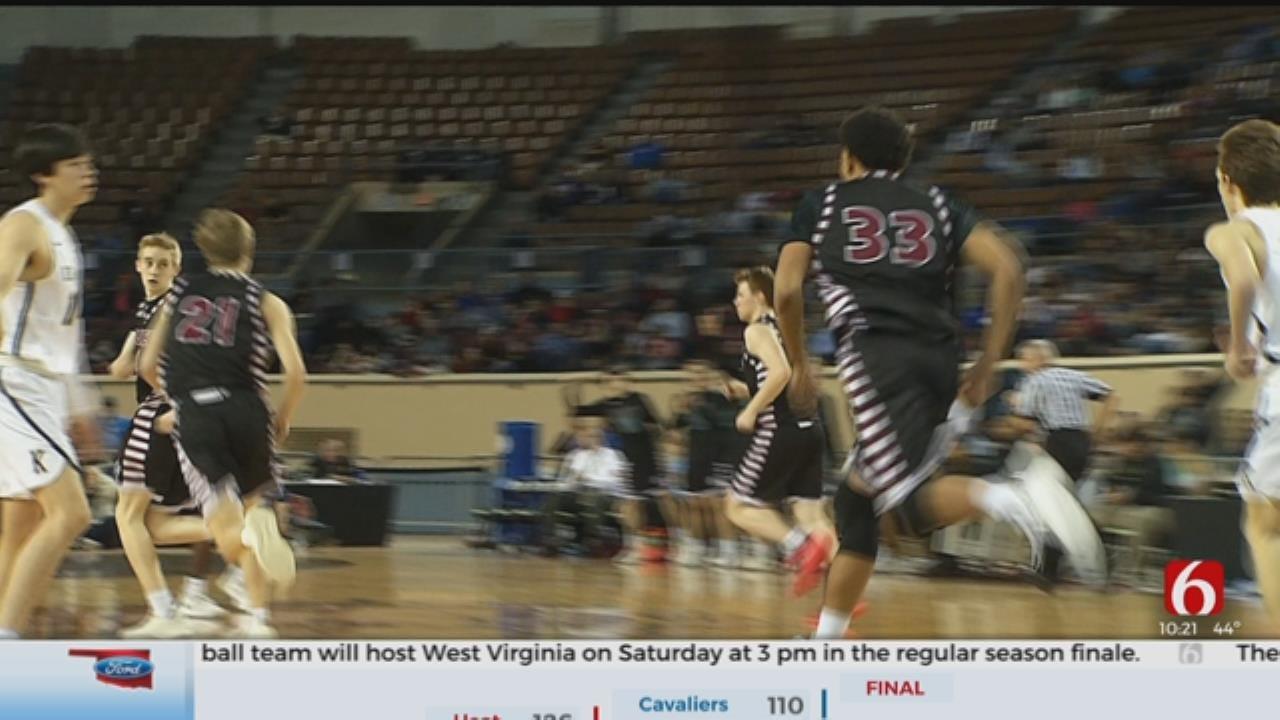 High School Basketball: Kingfisher Beats Holland Hall 58-32