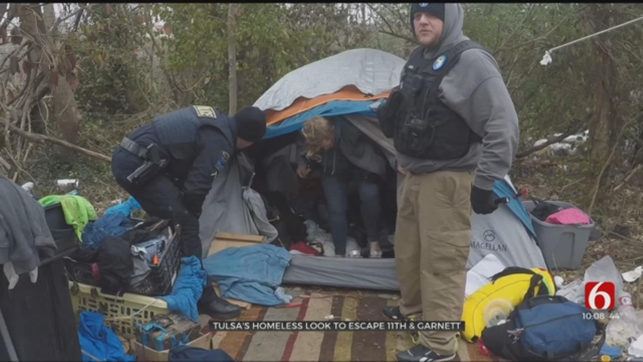Tulsa's Homeless Look To Escape 11th & Garnett