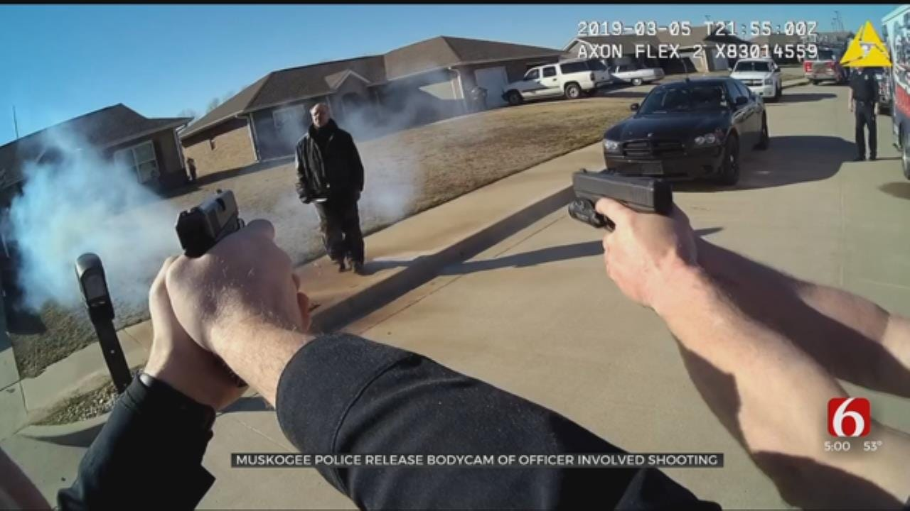 Muskogee Police Release Bodycam Of Fatal Officer-Involved Shooting