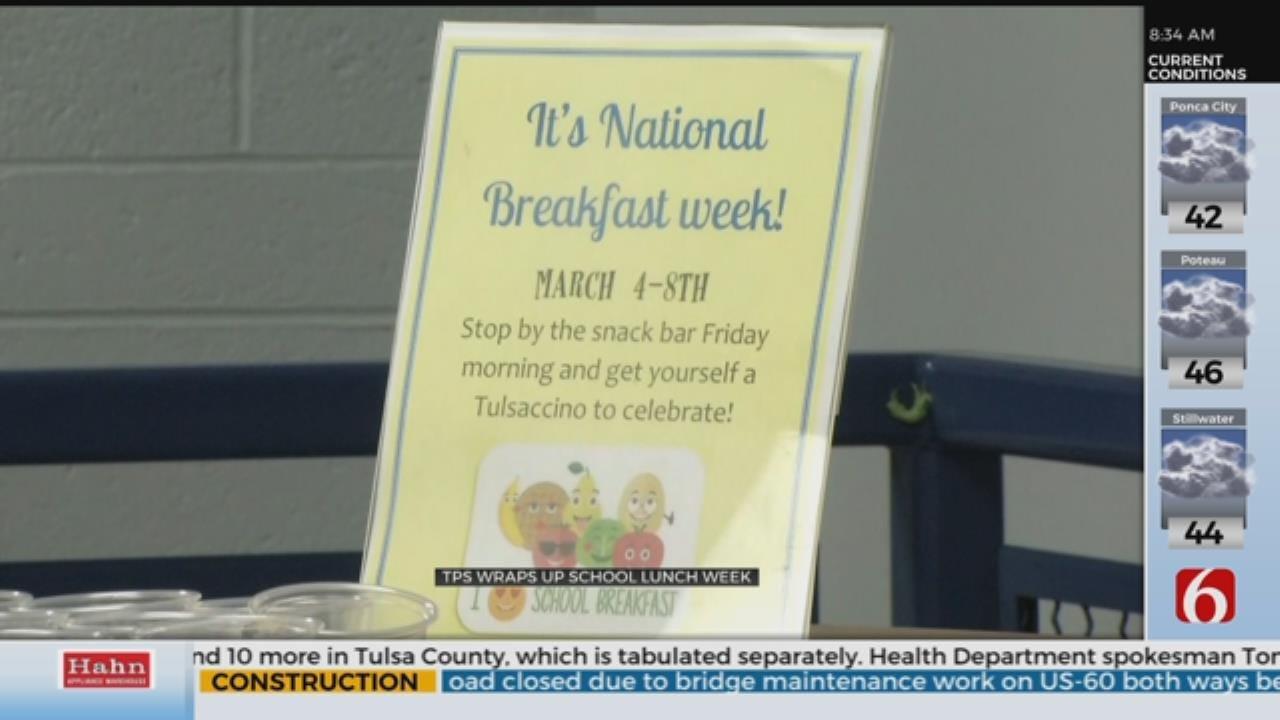 Tulsa Public Schools Celebrates National School Breakfast Week