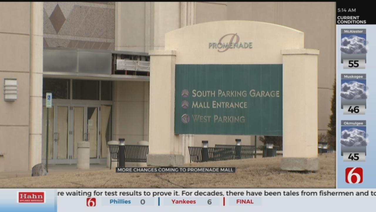Changes Coming to Tulsa's Promenade Mall