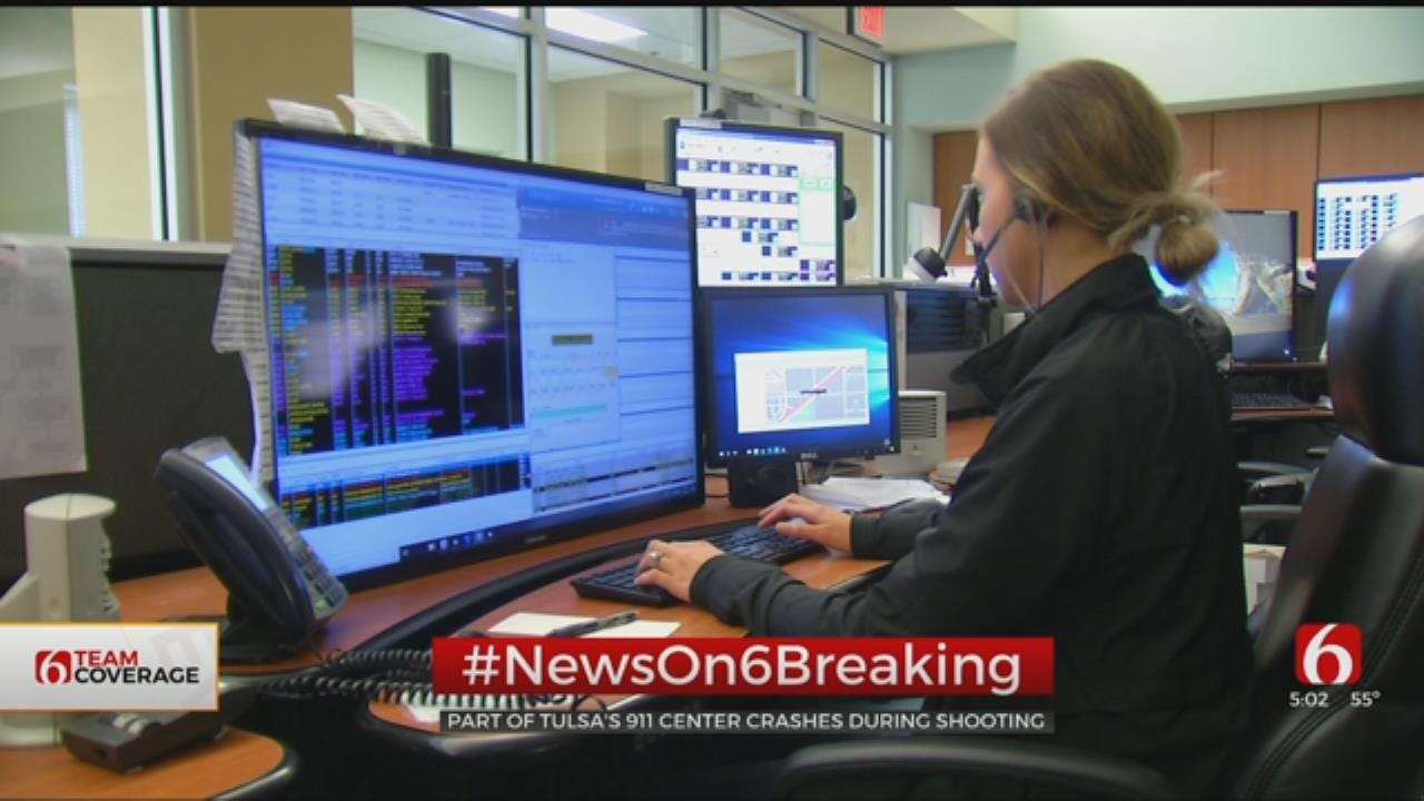 Tulsa 911 Dispatch Experiences Phone Line Issue