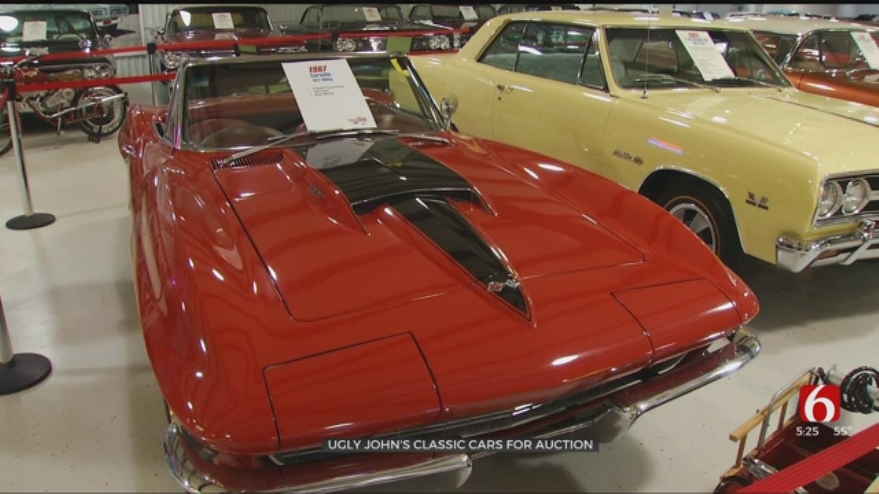 'Ugly John' Gives Up Classic Car Collection