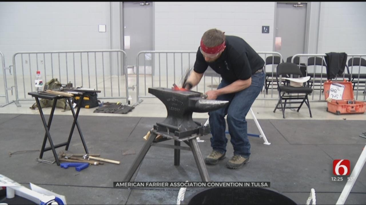 Farriers From Around The World Meet In Tulsa To Master Trade