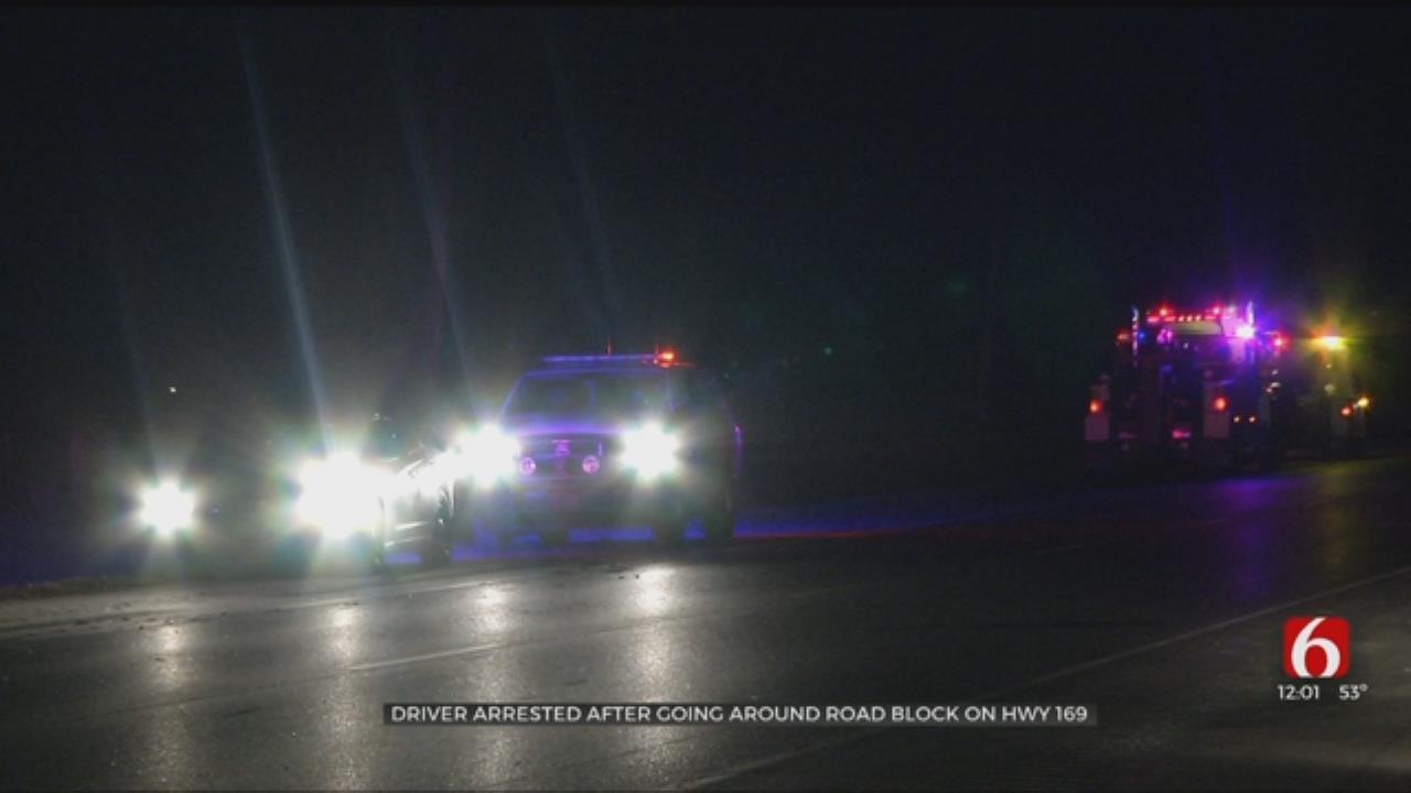 Rogers County Deputy Hit At Crash Scene