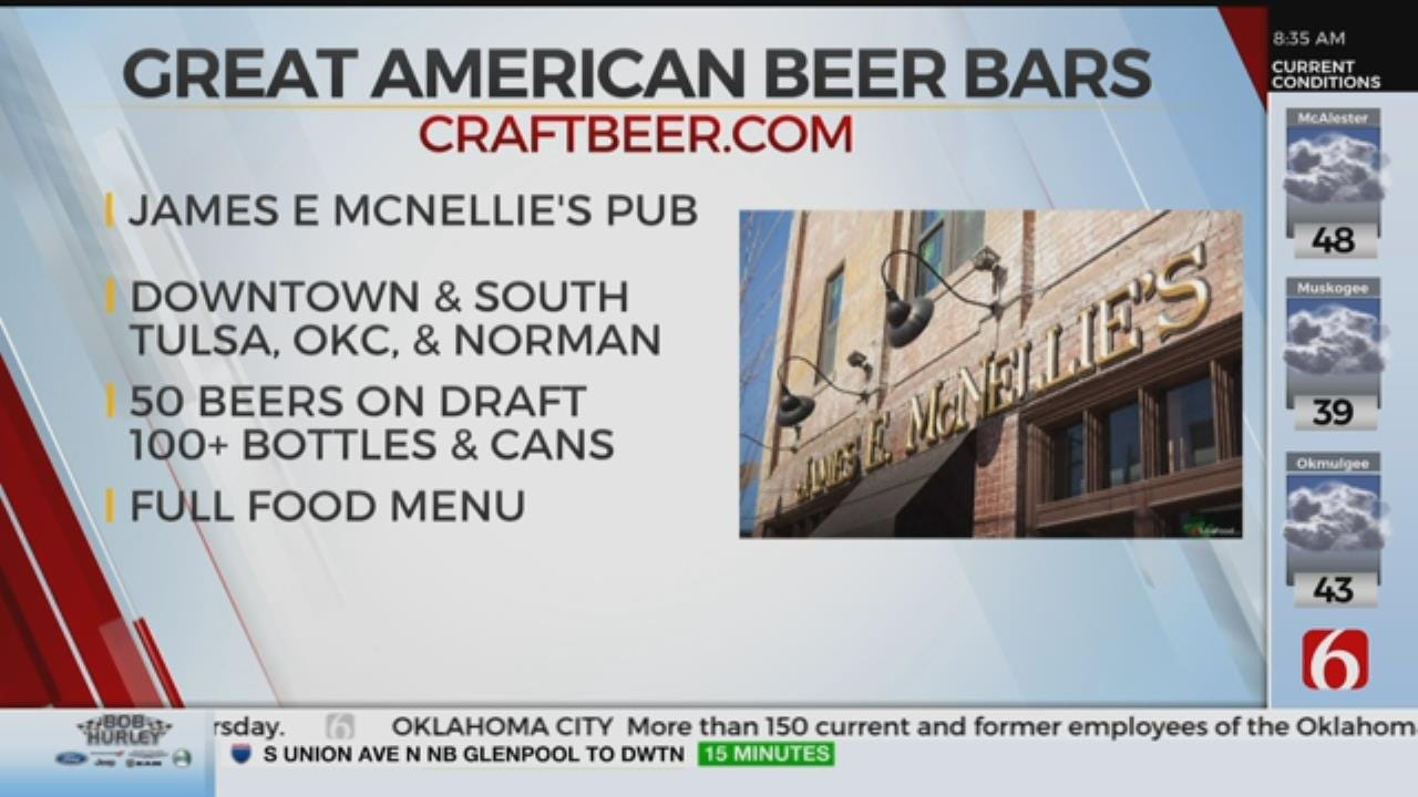 McNellie's Makes List Of 'Great American Beer Bars'