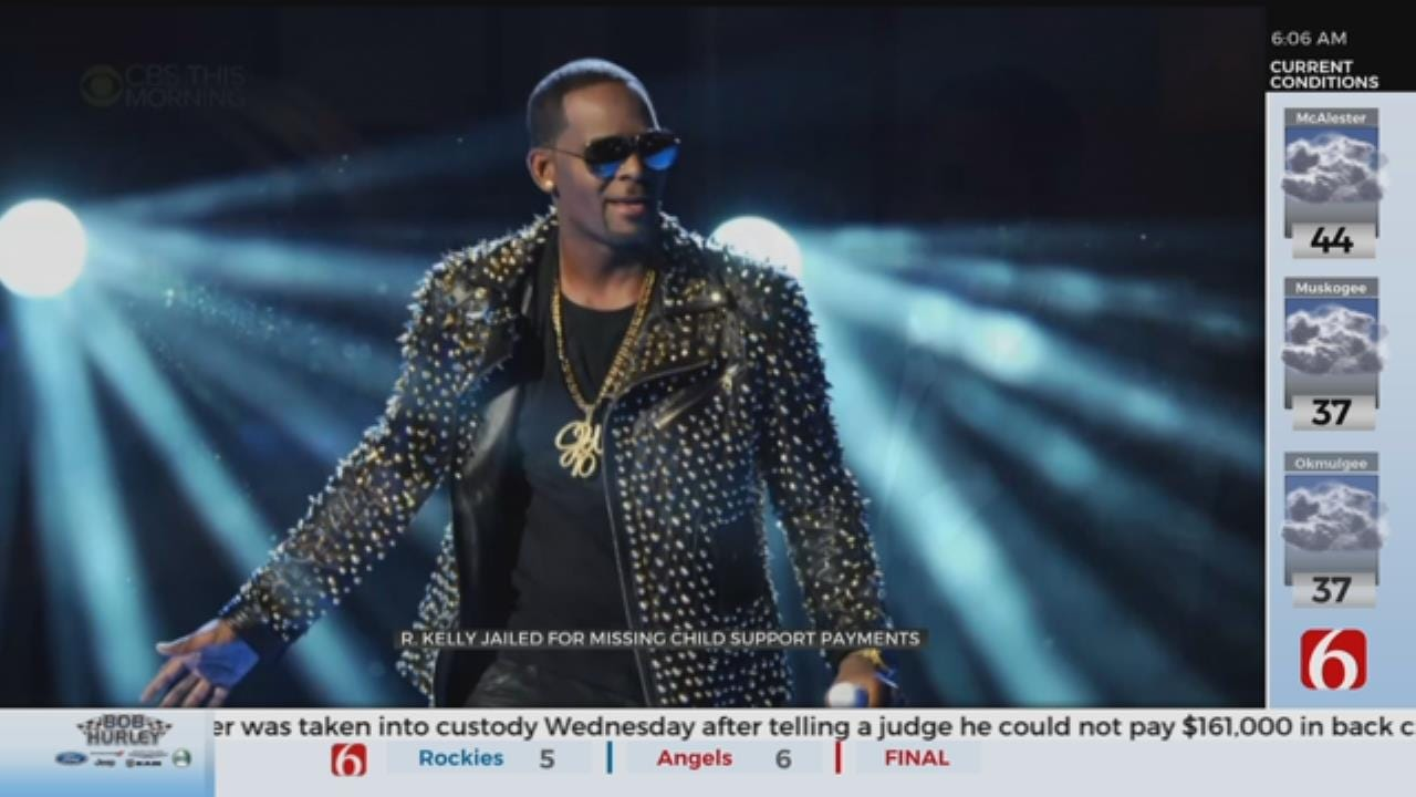 R. Kelly Jailed Over Failure To Pay Child Support