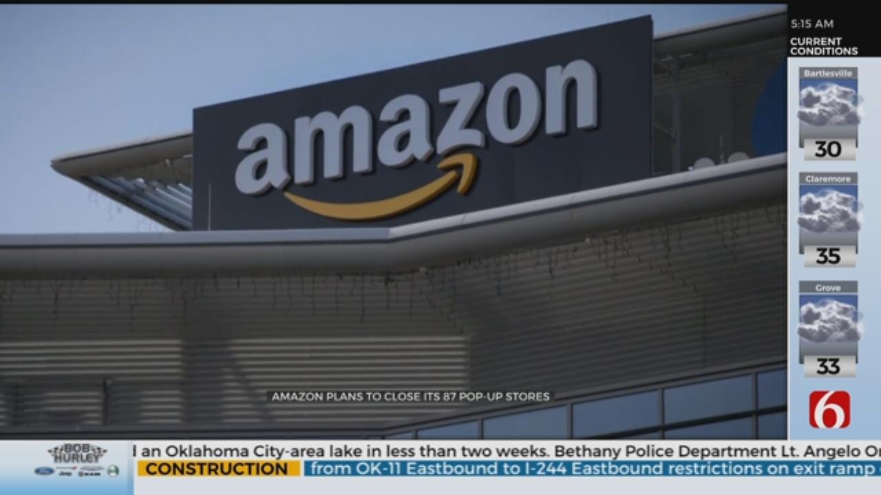 Amazon Closing All Of Its U.S. Pop-Up Stores