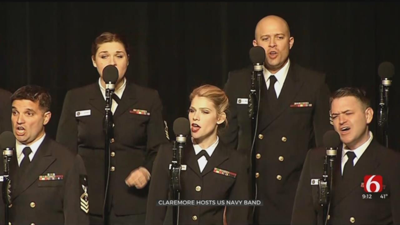 Claremore Hosts U.S. Navy Band