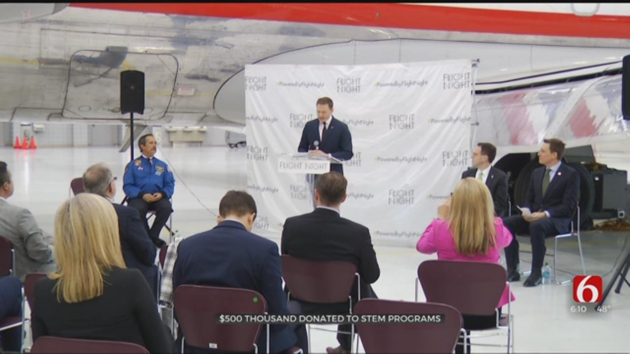Half A Million Dollars Donated To Tulsa Area STEM Programs