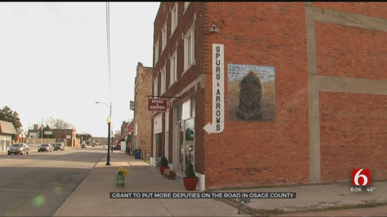 Osage County Grant Will Put More Deputies On The Road