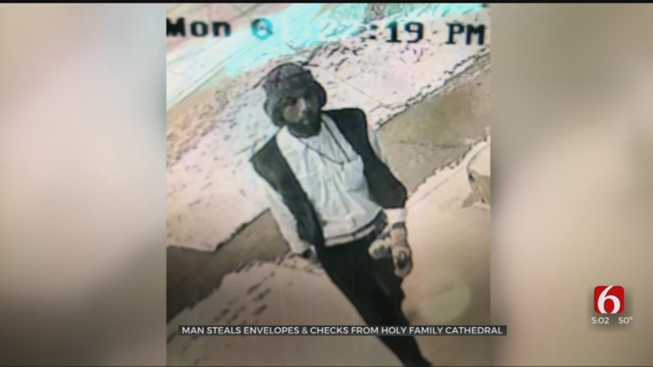 Tulsa Man Accused Of Stealing From Holy Family Cathedral