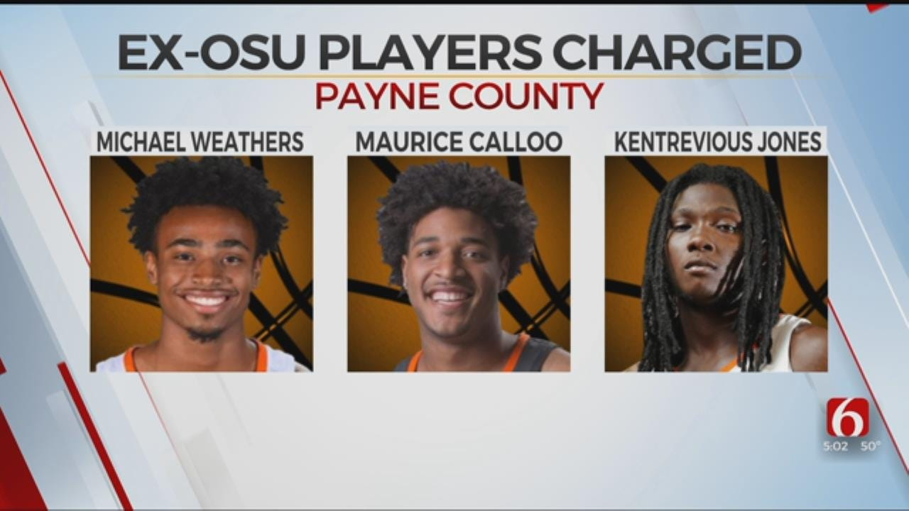Charges Filed Against 3 Former OSU Basketball Players