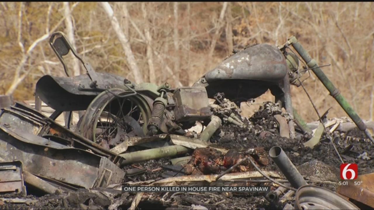 Man Dies In House Fire Near Spavinaw