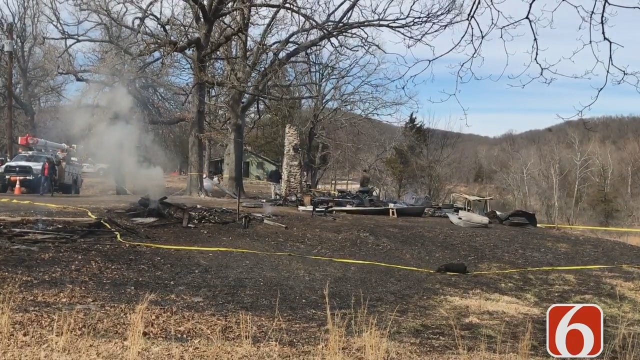 Emory Bryan Reports On Fatal Spavinaw Fire