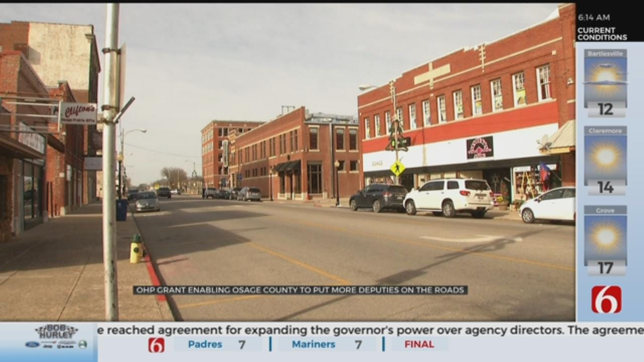 Grant Helps Osage County Sheriff's Office With Traffic Enforcement