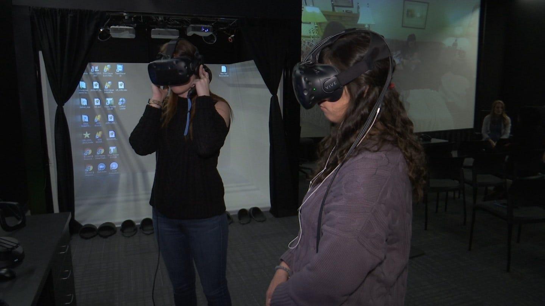 ORU Students Using Virtual Reality To Help Children Need