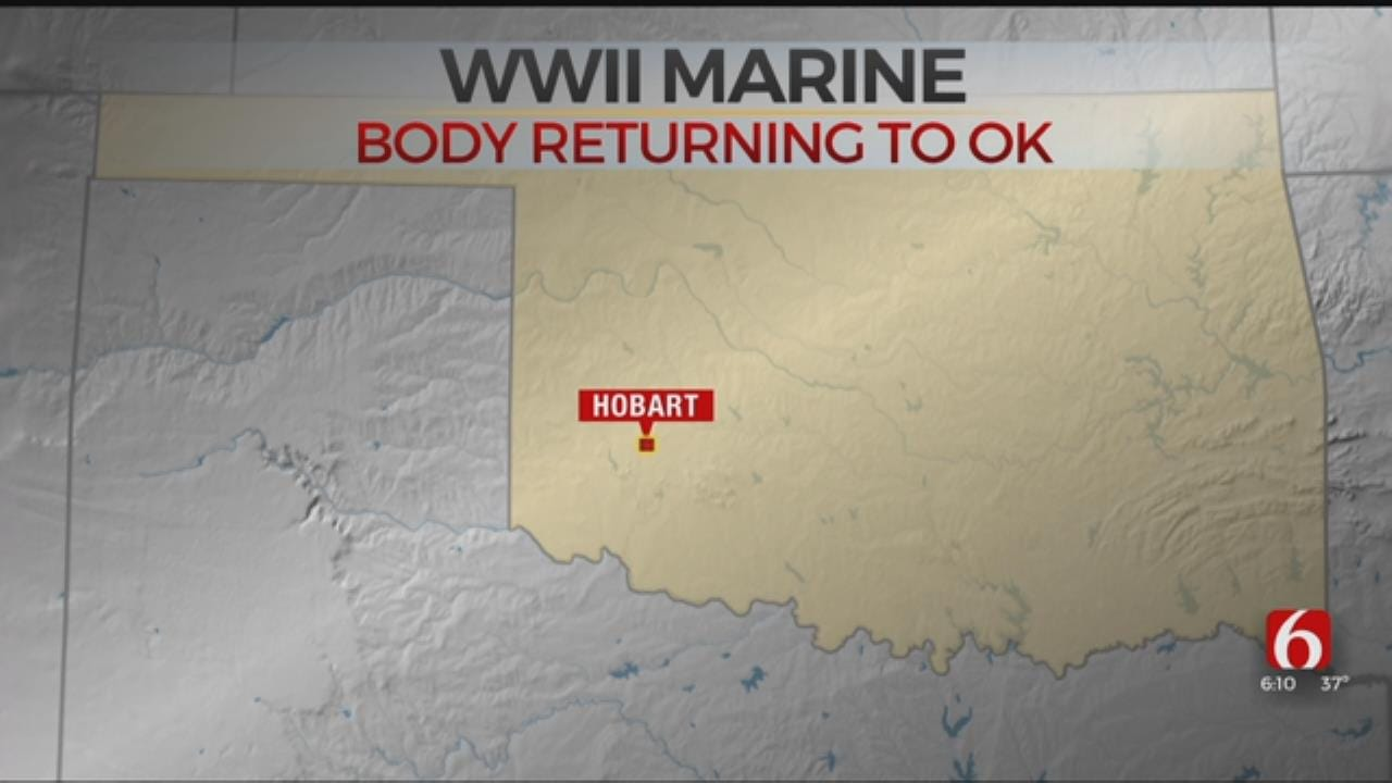 Body Of WWII Marine Will Be Returned To Oklahoma