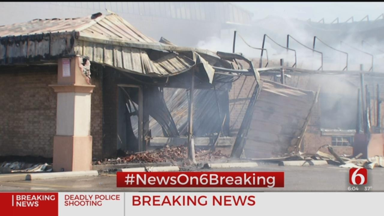 Fire Destroys Checotah Hotel And Bar