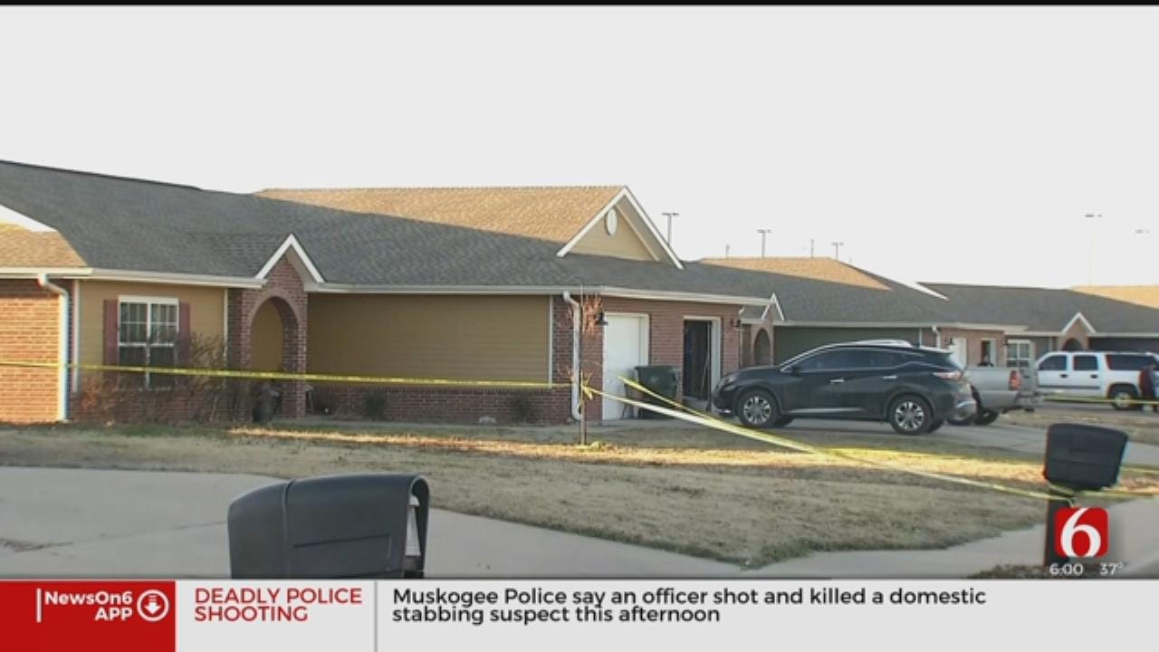 Muskogee Officer-Involved Shooting