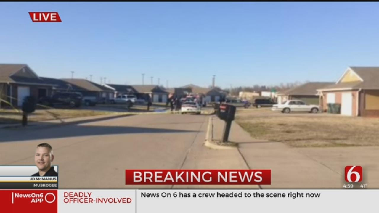 Suspect Dead In Muskogee Officer-Involved Shooting