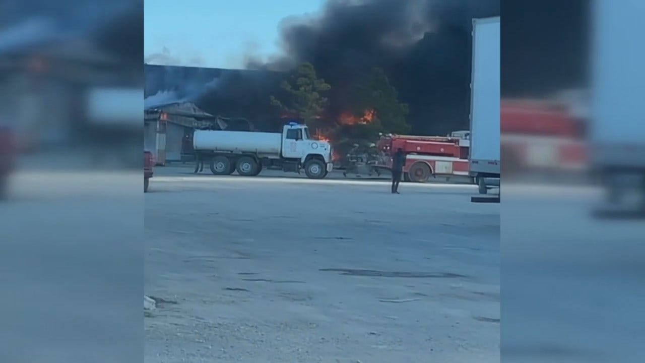 WATCH: Viewer Video Of Checotah Motel Fire