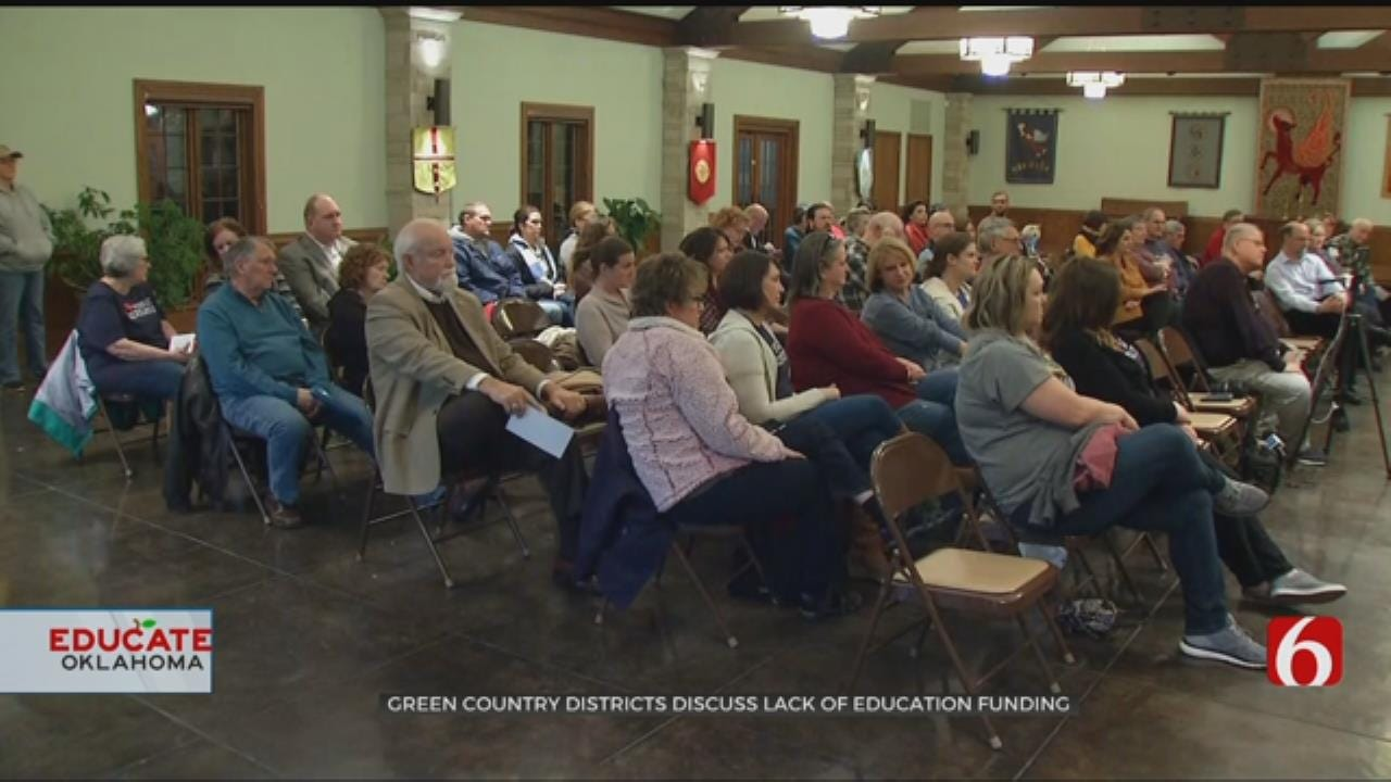 Northeast Oklahoma Districts Discuss Lack Of Education Funding