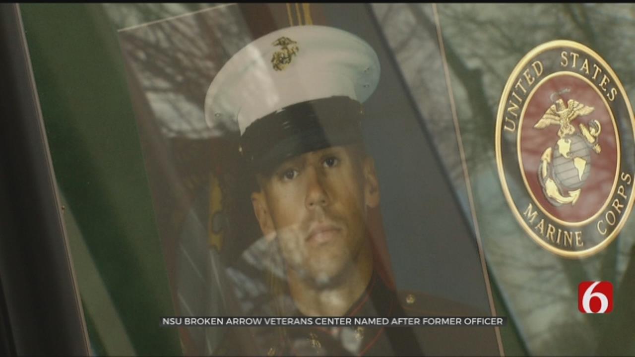 NSU In Broken Arrow Names Veteran's Center After Fallen Graduate