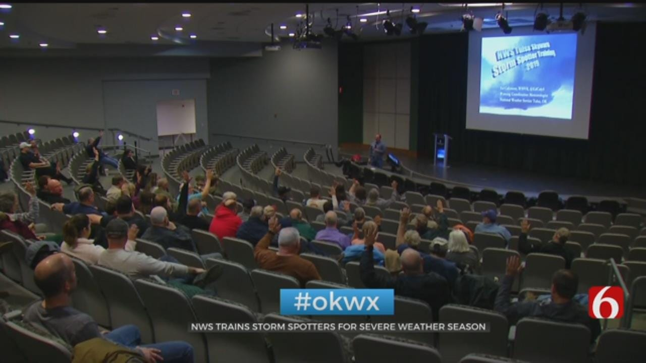 National Weather Service Trains Spotters For Severe Weather Season