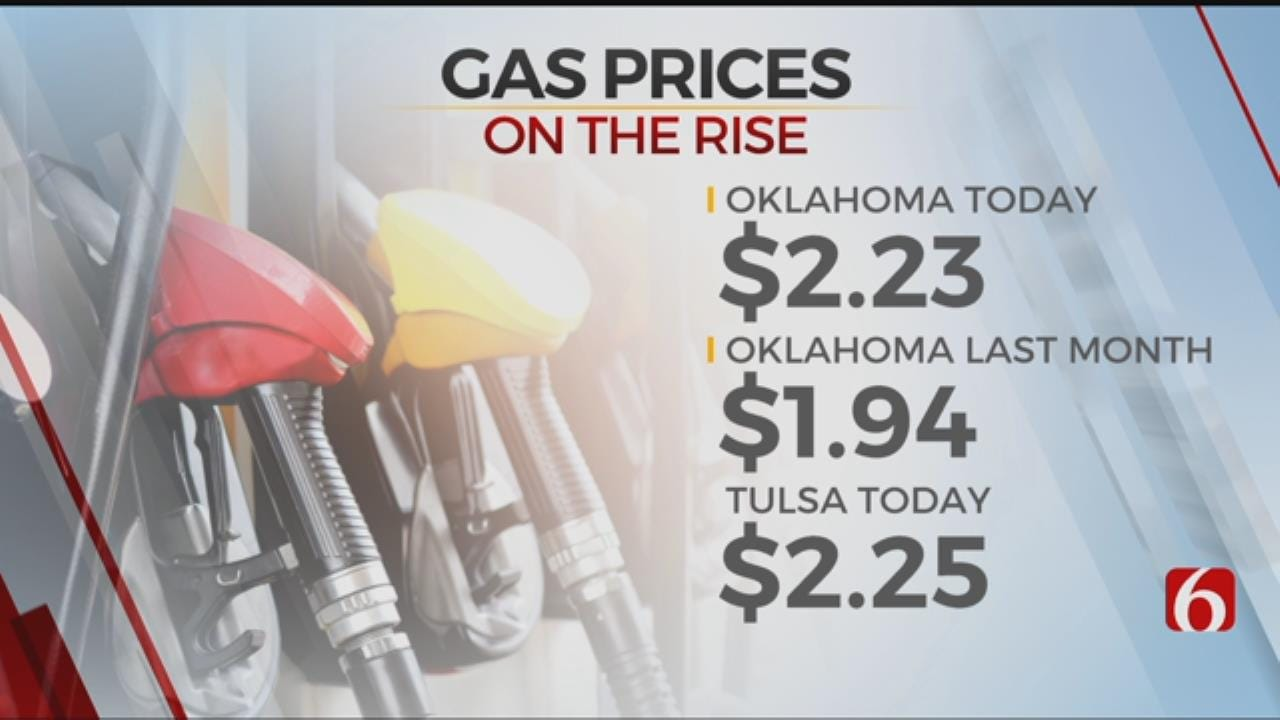 Oklahoma Gas Prices Continue To Rise