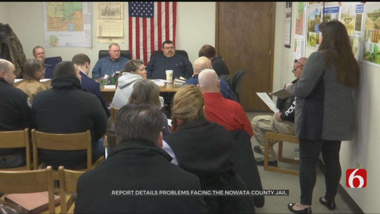 New Report Details Problems Facing The Nowata County Jail