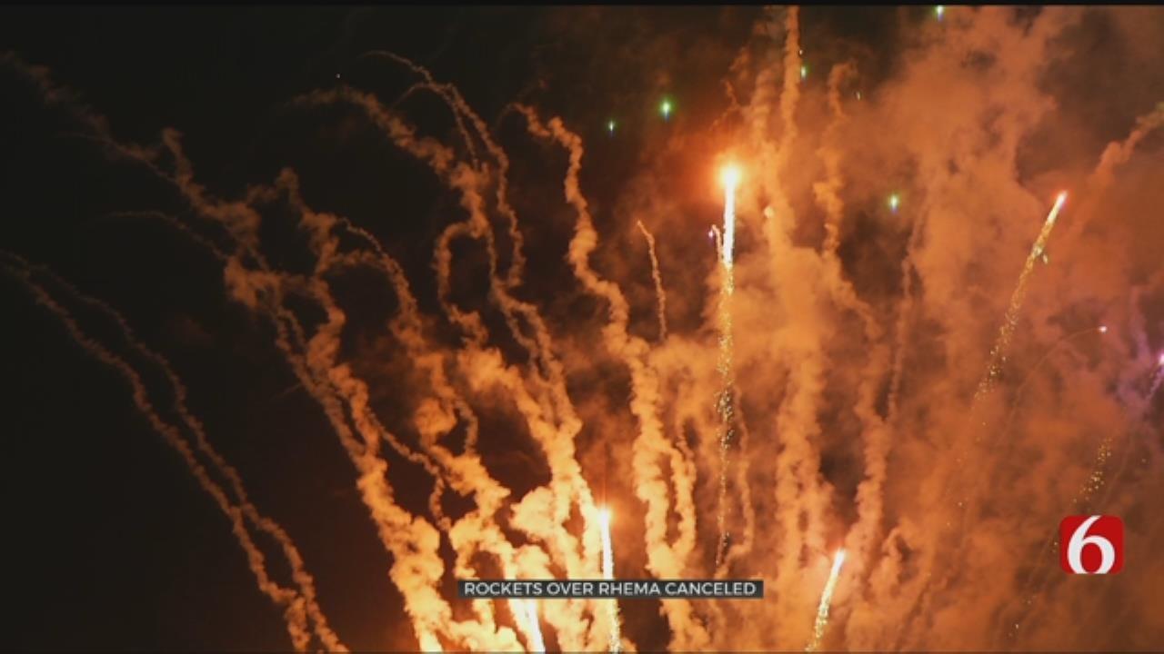 Rhema Bible Church Cancels 'Rockets Over Rhema' Event