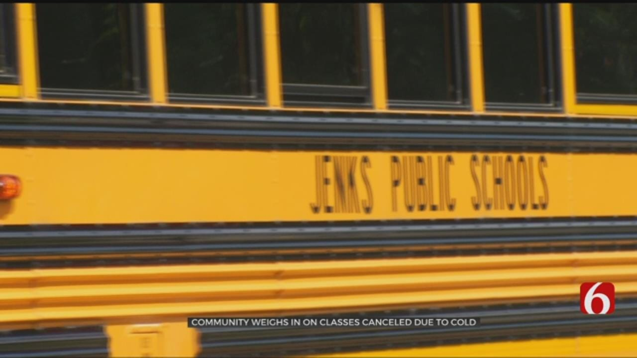 Community Weighs In On School Cancelations Due To Cold