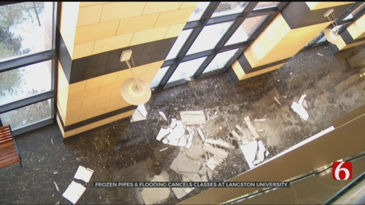 Busted Pipe Causes Langston University's Tulsa Campus To Cancel Classes