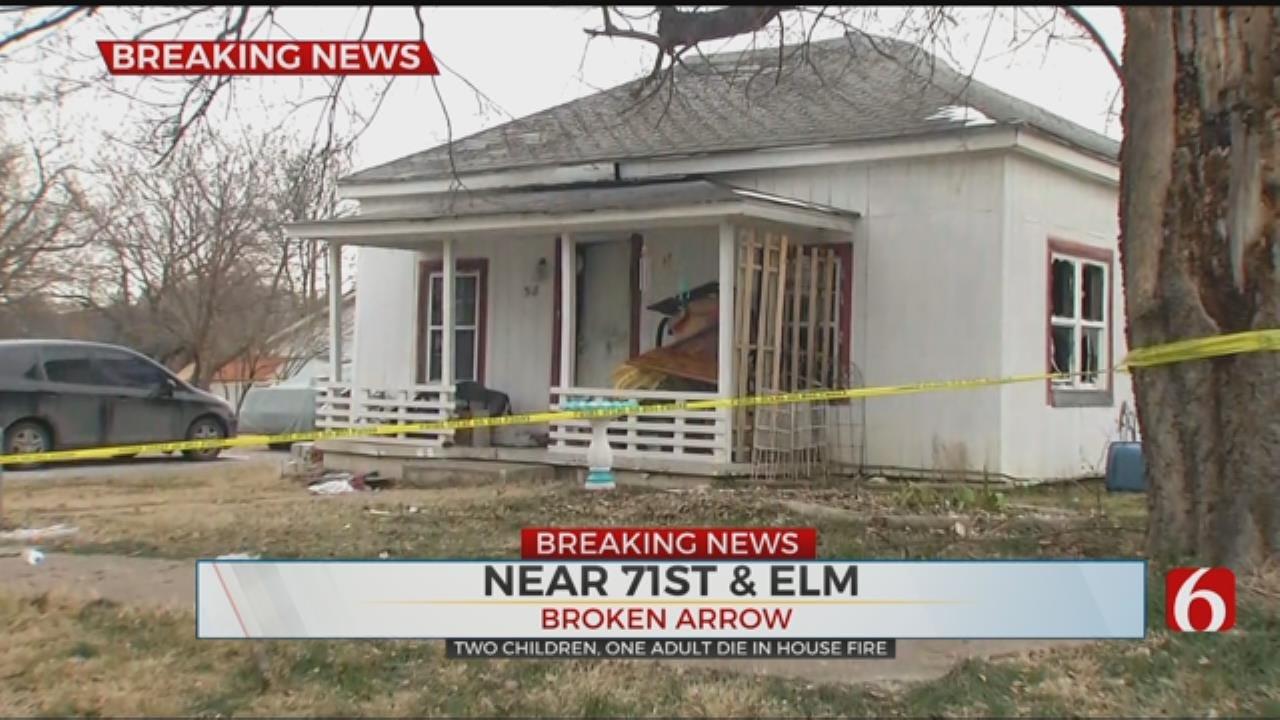 3 Killed In Broken Arrow House Fire