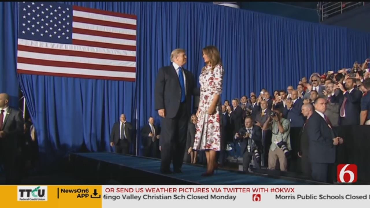 First Lady Scheduled To Visit Tulsa Elementary School
