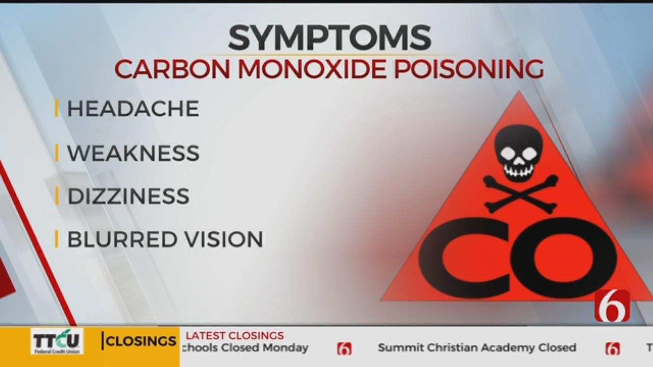 Tulsa Firefighters Warn Community About Carbon Monoxide Poisoning