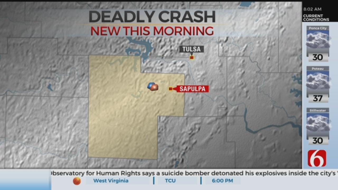 OHP Investigating Deadly Creek County Crash