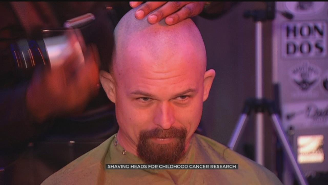 OSU Medical Students Go Bald For Good Cause