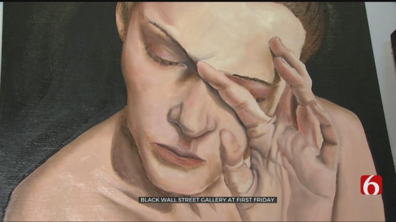 Women Celebrated At Tulsa's Black Wall Street Gallery On Greenwood